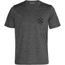 Icebreaker Tech Lite II Nonetwork T-shirt Herrer, grå